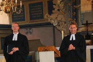 Pfr. Dr. Fincke und Pfr. Voigt